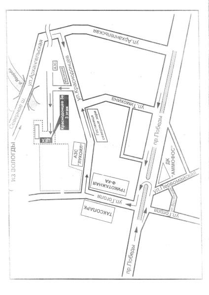 Схема проезда завод Эльком