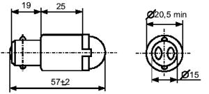 лампа СКЛ 2