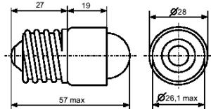 лампа СКЛ 7