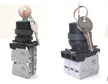 КПЕ с ключом на два и три положения