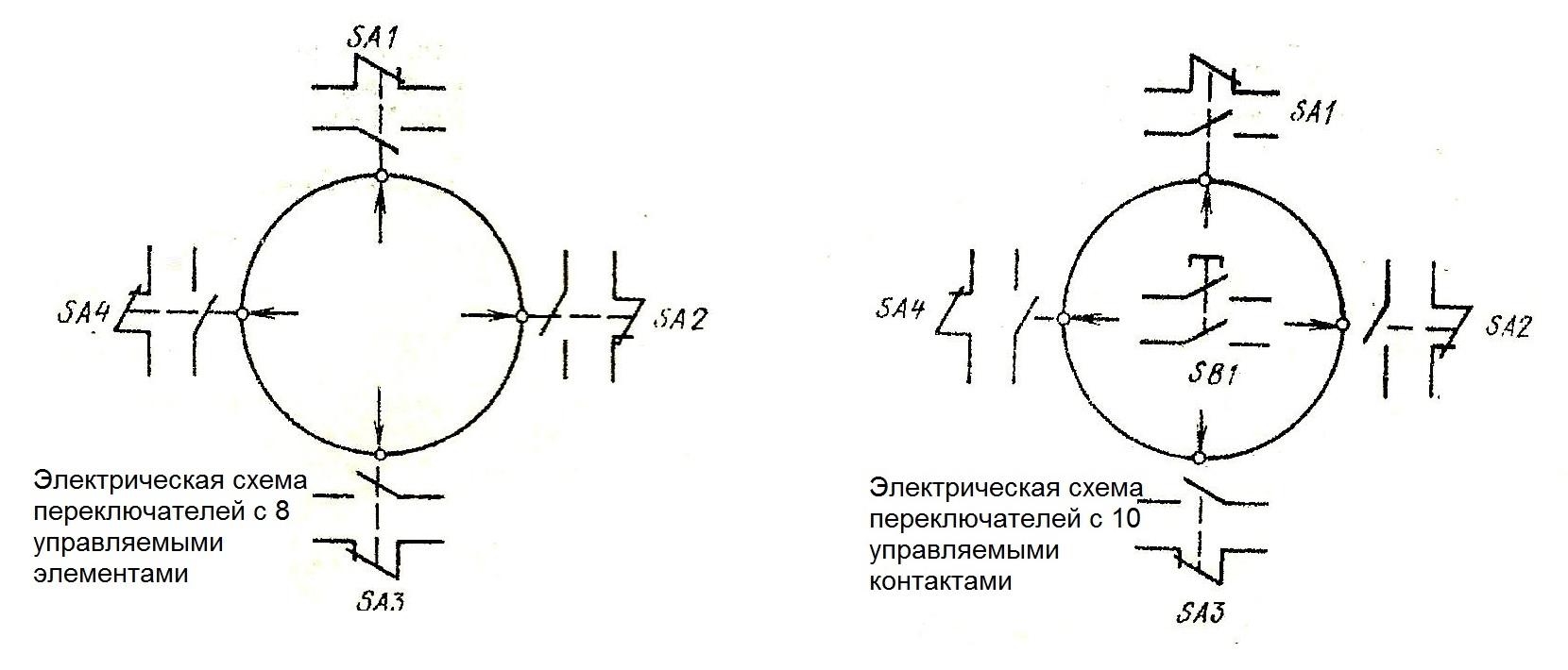 Электрические схемы ПК12-21